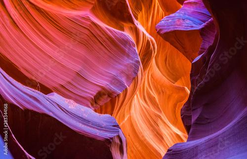 Photo Antelope Canyon in the Navajo Reservation near Page, Arizona, USA