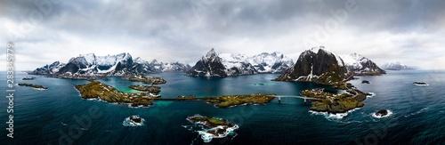 Fotomural Lofoten Panorama