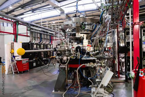 Photo Interior of Scientific Experimental Laboratory