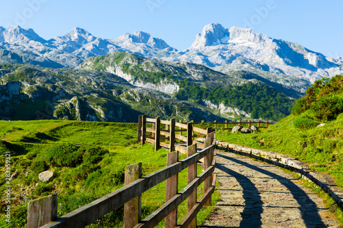 Mountain landscape of Picos de Europa, Spain
