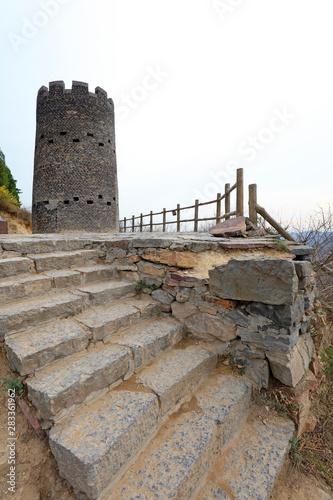 Photo blockhouse Ruins in China