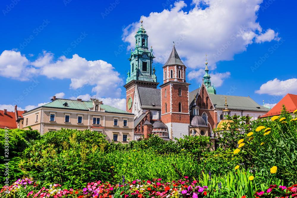 Fototapety, obrazy: Wawel Cathedral on Wawel Hill in Krakow, Poland