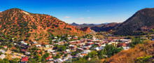 Panorama Of Bisbee And The Mule Mountains In Arizona