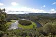 Meander of Melero Las Hurdes Extremadura Spain