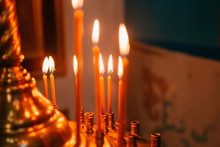 Religious Rite Celebration Cathedral Decorations Candles