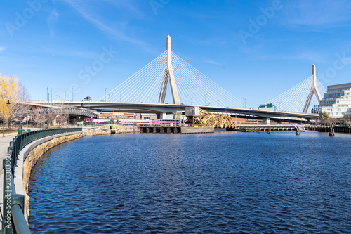 Photo  Boston Zakim bridge