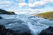 canvas print picture - Gullfoss auf Island