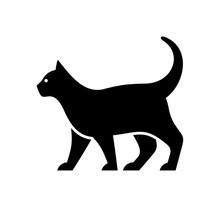 Cat Logo. Icon Design. Template Elements