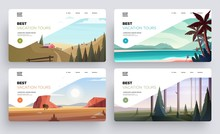 Collection Of Landing Page Tem...
