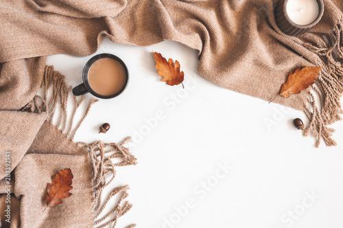 Obraz na plátne Autumn composition
