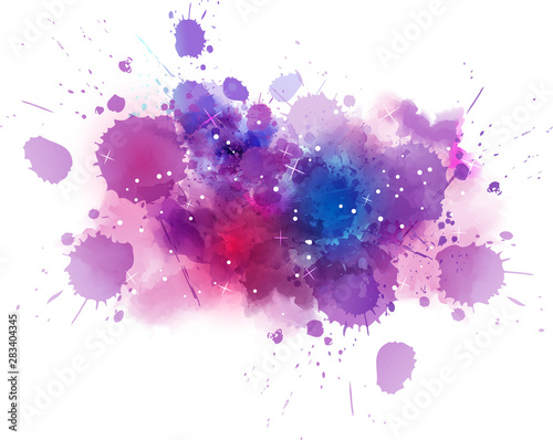 Abstract cosmos background