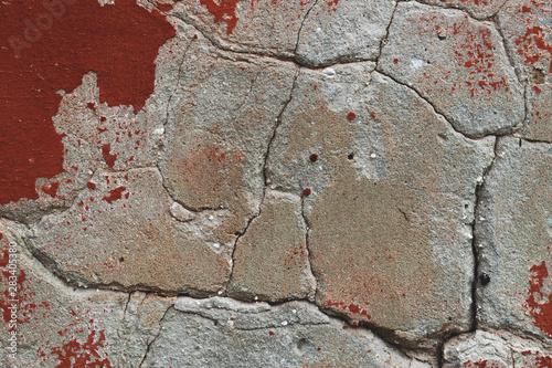 Pinturas sobre lienzo  Aged plastered wall.