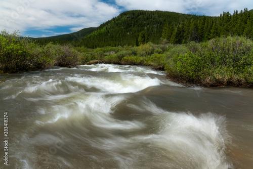 Natural Creek in Colorado
