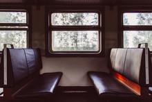 Empty Seats Inside Passenger C...