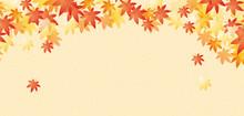 秋イメージの背景素材