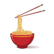 Oriental Noodle Food