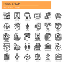 Pawn Shop , Thin Line And Pixe...