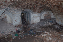 Ruined Vault In The Abandoned Palace Mansion