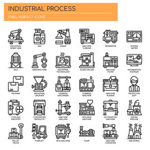 Industrial Process , Thin Line...