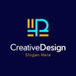 Letter P Creative Business Logo