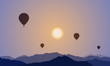 Some Balloons In The Sky, Mountains