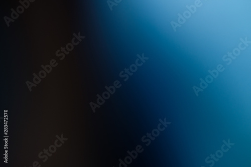 Fotografía  群青色のグラデーション背景(Ultramarine gradient background)