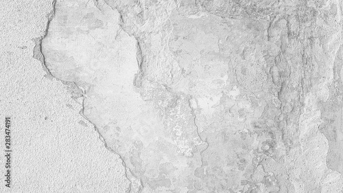 Dramatic concrete wall background texture Canvas Print