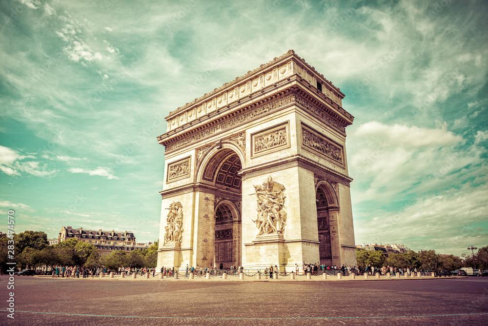 Fototapety, obrazy: Paris - Arc de Triomphe