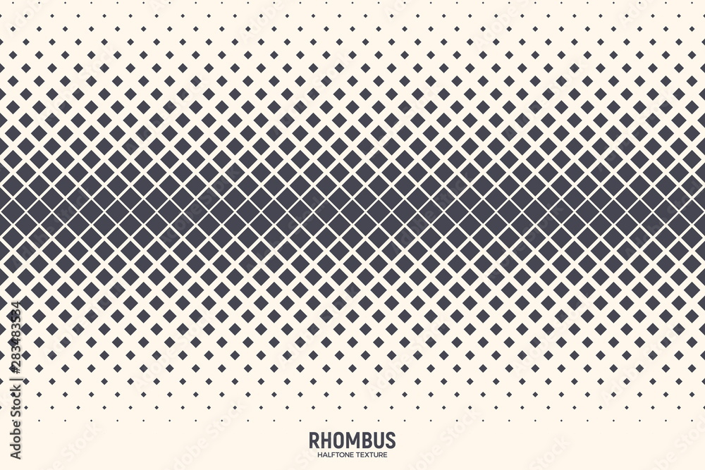 Fototapeta Rhombus Particles Vector Abstract Geometric Technology Extreme Sports Background