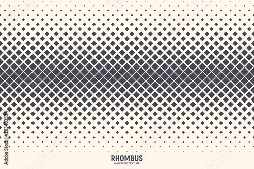 Fotomural  Rhombus Particles Vector Abstract Geometric Technology Extreme Sports Background