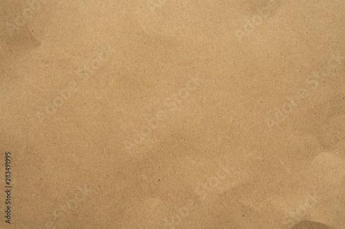 Leinwanddruck Bild - Piman Khrutmuang : Old brown recycle cardboard paper texture background