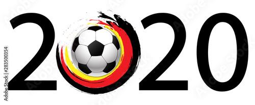 fussball 2020 Wallpaper Mural