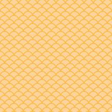 Yellow Japanese Scallops Seaml...