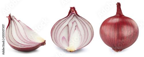 Photo  Onion isolated on white