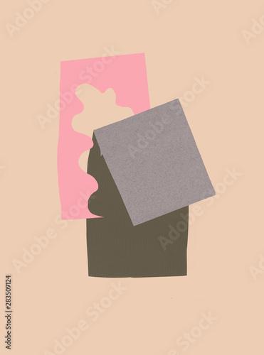 Illustration of spring house - 283509124