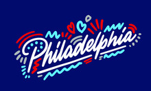 Philadelphia Handwritten City ...