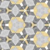Abstrakcjonistyczna kolorowa sześciokąta kwadrata geometryczna bezszwowa deseniowa symetryczna kalejdoskop moda - 283516956