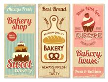 Bakery Banners. Sweet Cakes Ki...