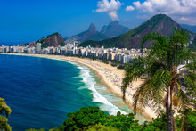 Copacabana Beach In Rio De Jan...