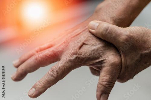 Valokuva  Trigger Finger problems