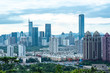 Shenzhen, China - August, 2019 : Cityscape of Shenzhen, China. Shenzhen is a major city in Guangdong Province, China.