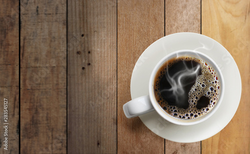 Obraz Hot coffee - fototapety do salonu