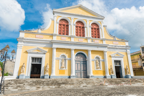 Cathedral Saint Pierre Saint Paul in Guadeloupe