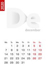 Minimalist Calendar Template F...