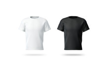 Blank Black And White T-shirt ...