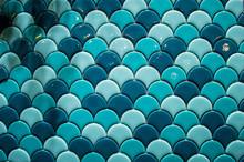 Vintage Blue Tiles