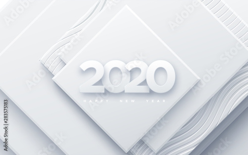 Fotomural  Happy New 2020 Year