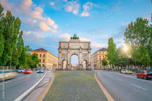 Cuadros en Lienzo Siegestor  triumphal arch, Munich, Germany