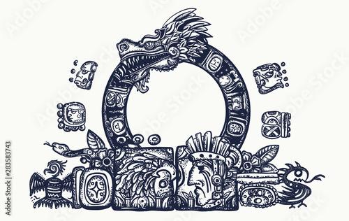 Cuadros en Lienzo  Ancient Maya Civilization