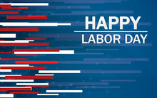 American Labor Day Background....
